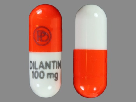 PD DILANTIN 100 mg: (43353-131) Dilantin 100 mg Extended Release Capsule by Physicians Total Care, Inc.