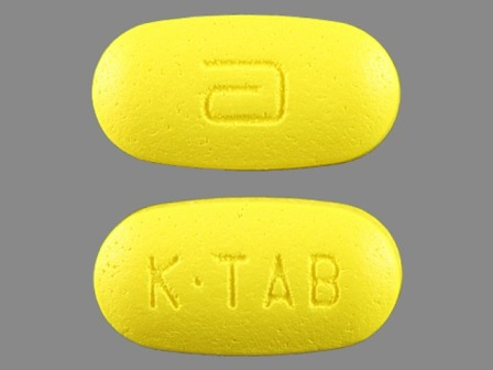 KTAB a: (43353-790) K-tab 10 Meq Extended Release Tablet by Aphena Pharma Solutions - Tennessee, Inc.
