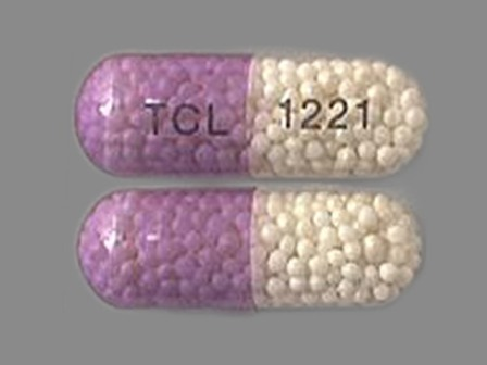 TCL 1221: (49483-221) Tng 2.5 mg Extended Release Capsule by Time Cap Labs, Inc.