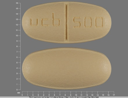 ucb 500: (50474-595) Keppra 500 mg Oral Tablet by Pd-rx Pharmaceuticals, Inc.