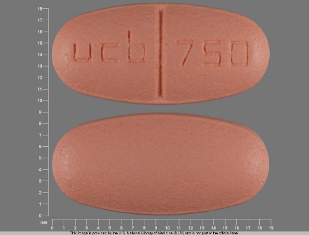 ucb 750: (50474-596) Keppra 750 mg Oral Tablet by Physicians Total Care, Inc.
