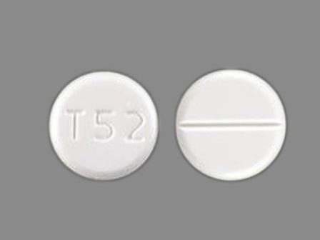 T52: (51672-4022) Acetazolamide 125 mg Oral Tablet by A-s Medication Solutions