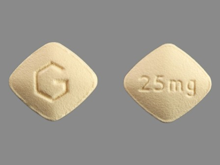 G 25mg: (59762-1710) Eplerenone 25 mg Oral Tablet by Greenstone LLC