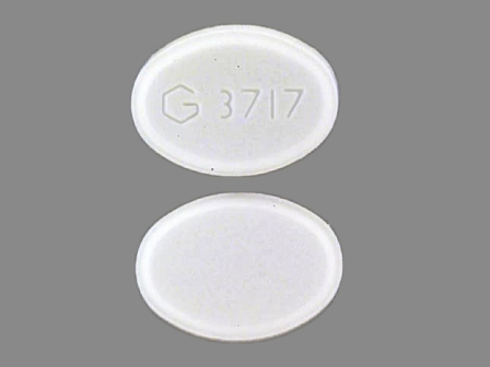 G3717: (59762-3717) Triazolam 0.125 mg Oral Tablet by Greenstone LLC