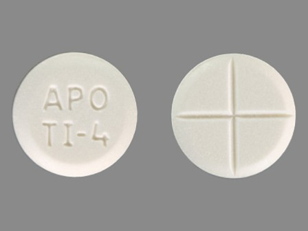 White Round Small Pill Apo Ti 4 What Is It For Topics Medschat