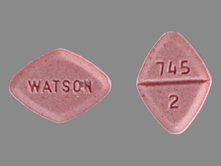 WATSON 745 2: (60429-567) Estazolam 2 mg Oral Tablet by Golden State Medical Supply, Inc.