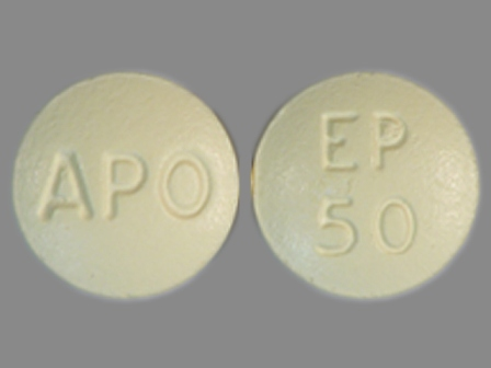 EP 50 APO: (60505-2652) Eplerenone 50 mg Oral Tablet by Apotex Corp