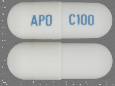 APO C100: (60505-3848) Celecoxib 100 mg Oral Capsule by Nucare Pharmaceuticals, Inc.