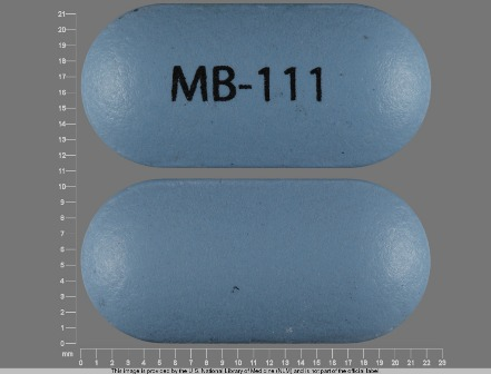 MB 111: (68453-142) Moxatag 775 mg Extended Release Tablet by Shionogi Inc.