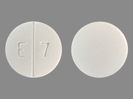 E7 : (68850-005) Ethambutol Hydrochloride 400 mg Oral Tablet, Film Coated by Remedyrepack Inc.